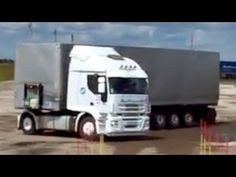 THE BEST PARKING SKILLS by a Volvo Truck Driver - YouTube