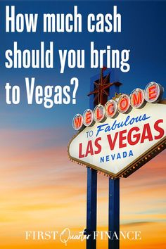 How much money to bring to Vegas? Here's how much you should bring, depending on how long you're staying and what you'll be doing. Vegas Vacation, Las Vegas Strip, Buffets, Way To Make Money, Nevada, Frugal, Life Is Good, Budgeting, Restaurants