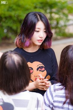 Ladies' Code EunB. Update: Rise's surgery isn't complete and is a lot worse than they thought. They had to pose-pone the surgery because of low blood pressure. She had to have CPR and is currently unconscious. Sojung is being cared for but her face has been disfigured, some people are saying she's unrecognizable.