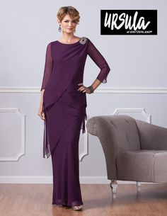 Ursula of Switzerland 61381 Special Occasion Dresses Gowns-Plus Size, Ursula 61381 Mother of the Bride/Groom Dresses Formal Gowns-Women's Size Best Prom Dresses, Pageant Dresses, Modest Dresses, Evening Dresses, Hippie Dresses, Fall Dresses, Halter Dresses, Tunic Dresses, Bohemian Dresses