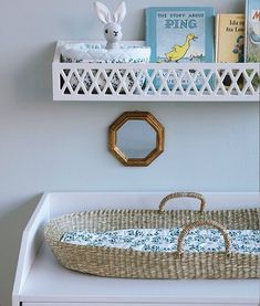 """Georgie Ludlow on Instagram: """"Making nappy changing a beautiful business- our changing basket from Cam Cam with the prettiest cotton liner. Harlequin furniture also in…"""" The Story About Ping, Nappy Change, Junior Bed, Nursery Neutral, Neutral Nurseries, Nursery Accessories, Newborn Essentials, Nursery Furniture, Natural Baby"""