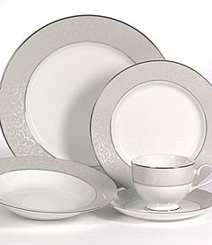 "Mikasa ""Parchment"" - If I were going to get China, this is what I'd get."
