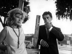 Monica Vitti & Alain Delon. Antonioni's L'Eclisse.