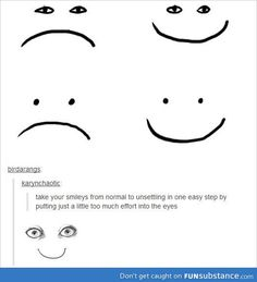 Smiley faces for you