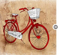 Vintage bike basket orange, Girls bike painting, Bike art, Bike love, Giclee Art Print Limited edition 12 x 16 Juri Romanov Orange Optimist Etsy Bicycle Illustration, Antique Illustration, Bike Poster, Bike Art, Vintage Diy, Vintage Bicycle Art, Vintage Bicycles, Grafik Design, Illustrations