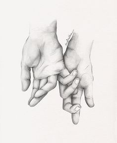 Alba Sáenz Source by emy_liwag. Art Drawings Sketches Simple, Couple Drawings, Pencil Art Drawings, Easy Drawings, Drawings Of Hands, Hand Pencil Drawing, Arte Digital Fantasy, Hand Kunst, Art Du Croquis