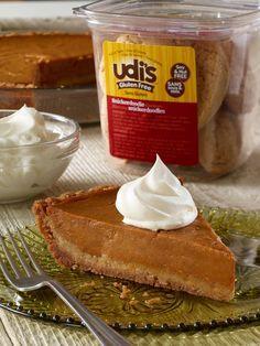 Udi's Gluten Free Snickerdoodle Pumpkin Pie