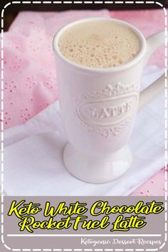 A (creamy) upgrade to the classic keto butter coffee. without butter! Specifically made to assist women in burning fat all morning long while regulating hormones and abolishing cravings. Healthy Crockpot Recipes, Gourmet Recipes, Dessert Recipes, Crockpot Meals, Easy Desserts, Diet Recipes, Easy Family Meals, Quick Easy Meals, Rocket Fuel Latte