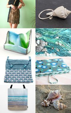 Tote Me to the Beach! by Monica Pryor on Etsy--Pinned with TreasuryPin.com
