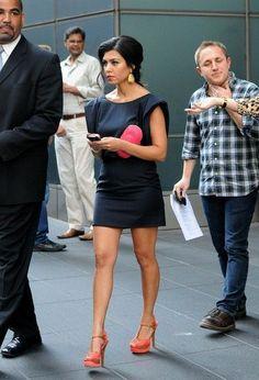 Kourtney Kardashian classy retro
