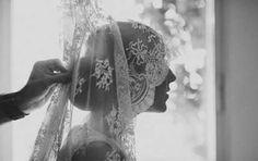Peinados de novia 2014: Looks con mantilla [FOTOS] - Peinados de novia: Looks…