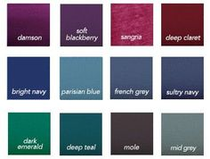 Cool & Soft Color Choices