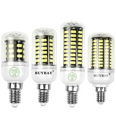 10x E27 E14 G9 LED Lampe de maïs Lumiere Ampoule 220V 5730 SMD 5W 7W 10W 12W 15W