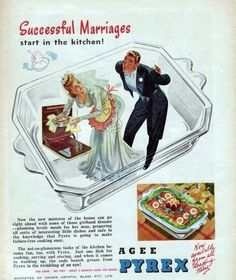 LOL this copy. I guess every little girl grows up dreaming of serving a man!