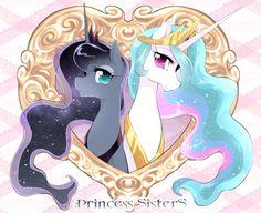 Princess Celestia & Princess Luna