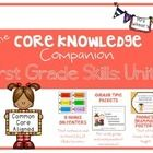 This product contains materials designed to use along side the Core Knowledge Curriculum for First Grade Skills: Unit 4. The materials are not desi...