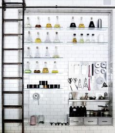 my lab aka craft area where i do experiment on a lot of things so this is just the perfect wall design.  i'd put beads and chachkis in the beakers.  i'd probably add some test tubes too.