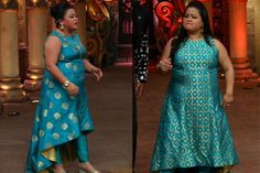 Stylish Outfits Every Plus Size Bride Can Steal From Comedy Queen Bharti Singh Indian Wedding Wear, Indian Bridal Fashion, Indian Wear, Plus Size Wedding Outfits, Plus Size Outfits, Heavy Dresses, Plus Size Dresses, Indian Dresses, Indian Outfits
