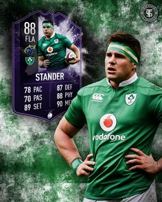 Rugby Ultimate team card for CJ stander fr a man of the match performance in the six nations Six Nations Rugby, Man Of The Match, Father, Baseball Cards, Sports, Pai, Hs Sports, Sport, Dads