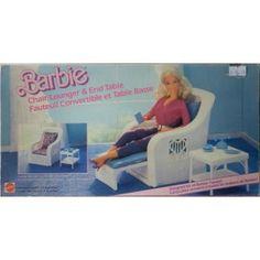 Barbie salotto trasformabile 1983