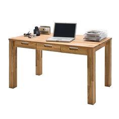 Schreibtisch Lumberjack - Kernbuche massiv - geölt, Ars Natura Jetzt bestellen unter: https://moebel.ladendirekt.de/buero/tische/schreibtische/?uid=419d2d1b-8fac-5039-a136-ce56d0a7922c&utm_source=pinterest&utm_medium=pin&utm_campaign=boards #möbel #natura #ars #buero #büro #bürotische #tische #schreibtische