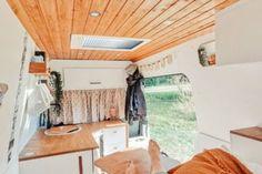 Buddies stellen sich vor: Peugeot Boxer-Camper von Anni und André Peugeot, Boxer, Loft, Van, Furniture, Home Decor, Cool Campers, Rv Redo, Lounge Seating