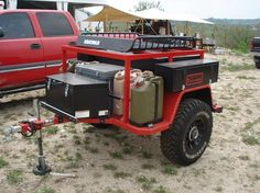 17 Top Best Off Road Camper Trailers - - Jeep Camping, Off Road Camping, Off Road Camper Trailer, Trailer Build, Camper Trailers, Campers, Trailer Plans, Truck Bed Trailer, Expedition Trailer