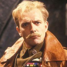 Rik Mayall as Lord Flashheart in Blackadder Goes Forth -- WOOF!