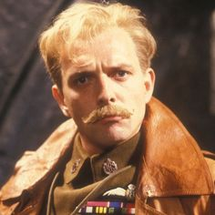 Rik Mayall as Lord Flashheart in Blackadder Goes Forth -- WOOF!