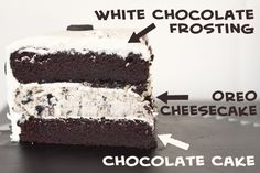 Erin's Food Files » Oreo Cheesecake Cake