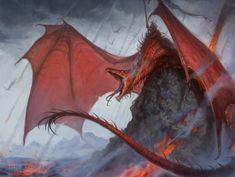 Red Dragon Mount, Felipe [Fesbra] Escobar on ArtStation at https://www.artstation.com/artwork/9qnWq