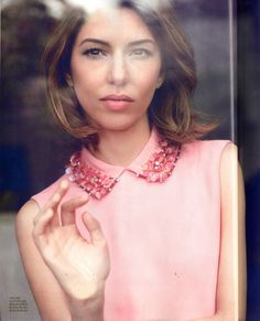 MagSpider: Sofia Coppola on Cover for Red July 2013
