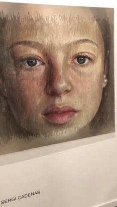 Art Sketches, Art Drawings, Images Gif, Sad Art, Amazing Art, Awesome, Belle Photo, Oeuvre D'art, Unique Art