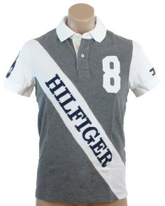 Tommy Hilfiger Mens Custom Fit #8 Logo Polo Shirt « Shirt Add