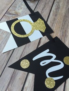 Kate Spade bridal shower banner by CraftsOnKinzie on Etsy