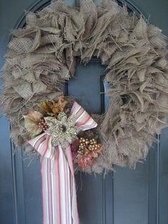 DIY Décor: Best Ideas For Christmas Burlap Wreath