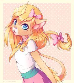 AT: Ambreon by Hyanna-Natsu on DeviantArt Hyanna Natsu, Cute Characters, Fictional Characters, Anime Dolls, 3 Arts, Fantasy World, Furry Art, Cool Drawings, Chibi