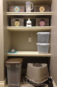 Organize Your Pets' Stuff FabulouslyOrganizedHome.com