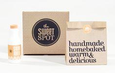 branding for The Sweet Spot