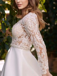 untitled image Body M, Couture Bridal, Sans Serif, Wedding Dresses, Lace, Style, Fashion, Moda, Bridal Dresses