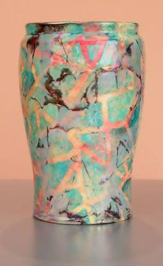 [Iridescent Pottery by Paul J. Katrich (1398)]