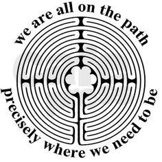 labyrinth Estamos todos en el lugar preciso donde necesitamos estar