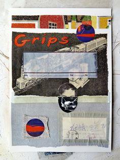 "mano kellner, collage ""grips"" 3/16"