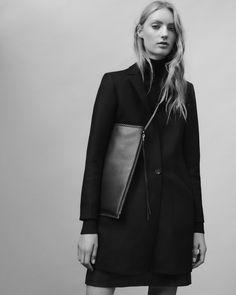 MINIMAL + CLASSIC: #THEALLSAINTSHANDBAG Introducing The Fleur De Lis Chain Shoulder Bag