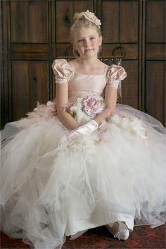 Love this Flower girl dress! www.christinebentley.com