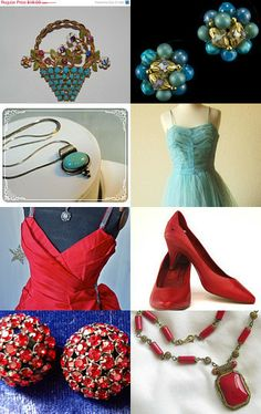 Teamlove Christmas Preview Treasury by Catherine Boudoir on Etsy--Pinned with TreasuryPin.com #TeamLove #vintage #jewelry #Fashion #etsyretwt
