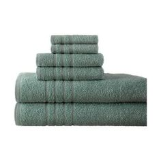 Charlton Home Ridgway Egyptian Quality Cotton 6 Piece Towel Set Color: Bath Towel Sets, Bath Towels, Egyptian Cotton Towels, Linen Store, Laundry Hacks, Bath Linens, Joss And Main, Home Textile, Cleaning Recipes