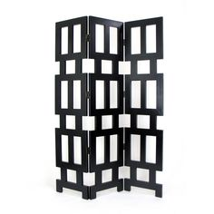 Wayborn 2370B Albertson Screen Room Divider - Antique Black $513.99 hayneedle