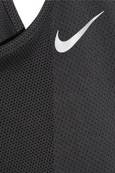 Nike - Zonal Relay Dri-fit Mesh Tank - Anthracite - x small