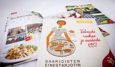 Saarioinen / Uutiskukko personnel magazine / Calendar 2014